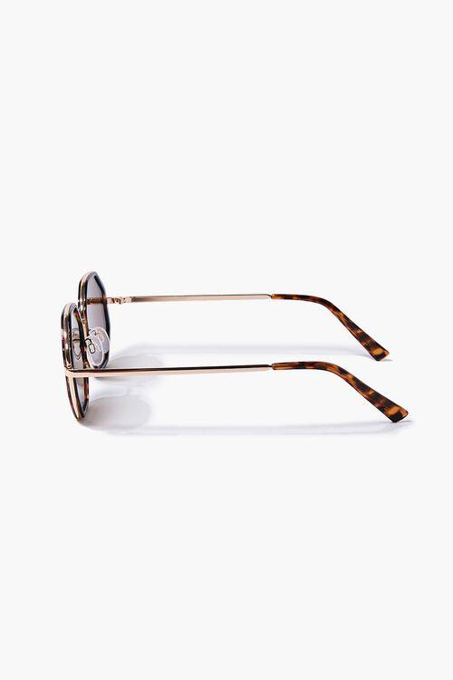 Tortoiseshell Geo Sunglasses, image 4