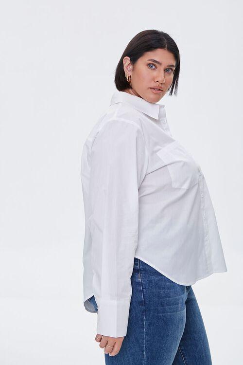 Plus Size Button-Up Shirt, image 2