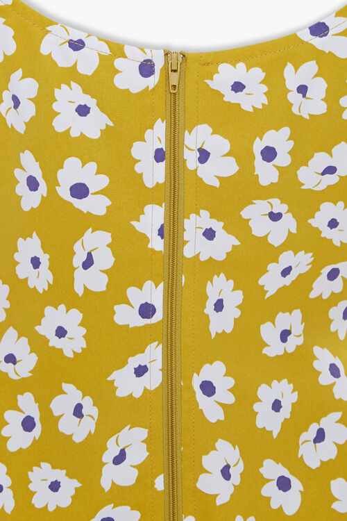 Floral Tie-Strap Mini Dress, image 3