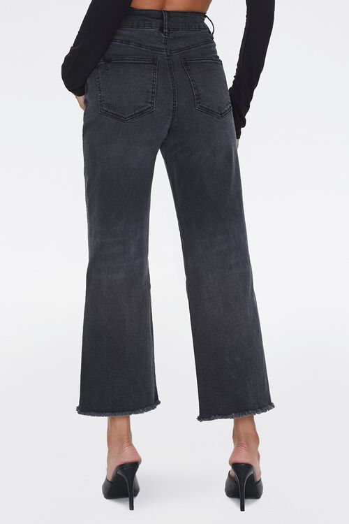 Frayed Flare Ankle Jeans, image 4