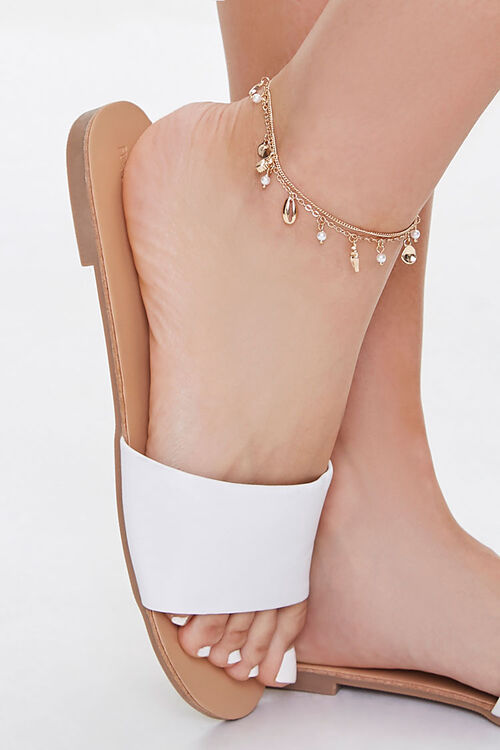 Faux Seashell Anklet Set, image 1