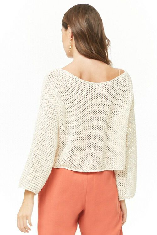 Open Knit Sweater, image 3