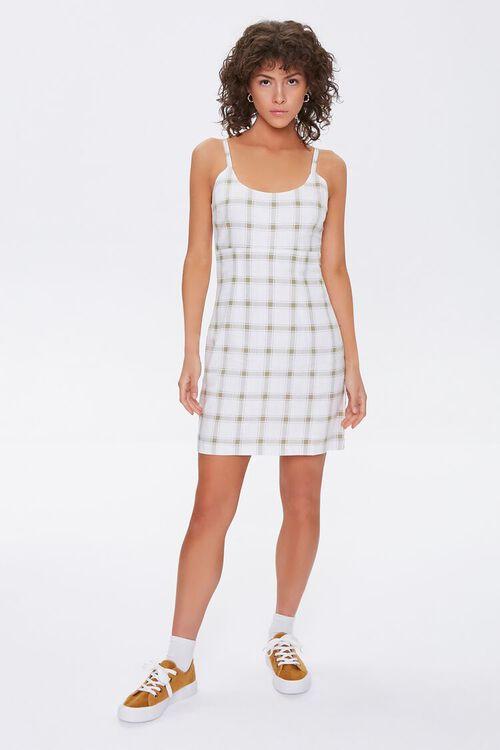 Plaid Cami Mini Dress, image 4