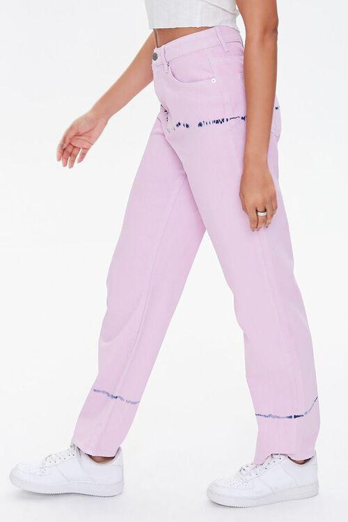 Tie-Dye Straight Jeans, image 3