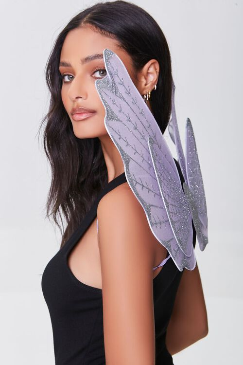 LILAC/MULTI Butterfly Costume Wings, image 2