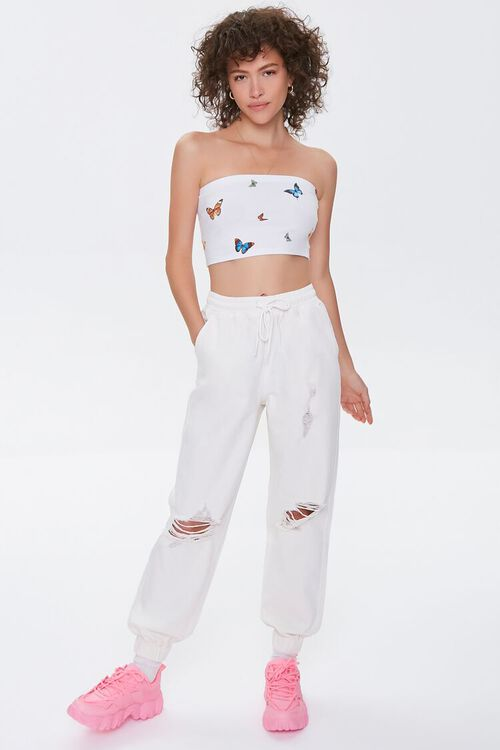 Butterfly Print Tube Top, image 4