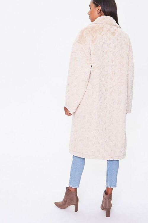 Faux Fur Longline Coat, image 3