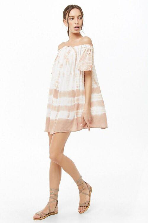 Tie-Dye Off-the-Shoulder Dress, image 4