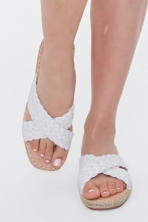 Crisscross Espadrille Flatform Sandals, image 4