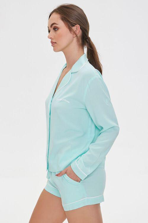 Pretty Please Pajama Shirt & Shorts Set, image 2