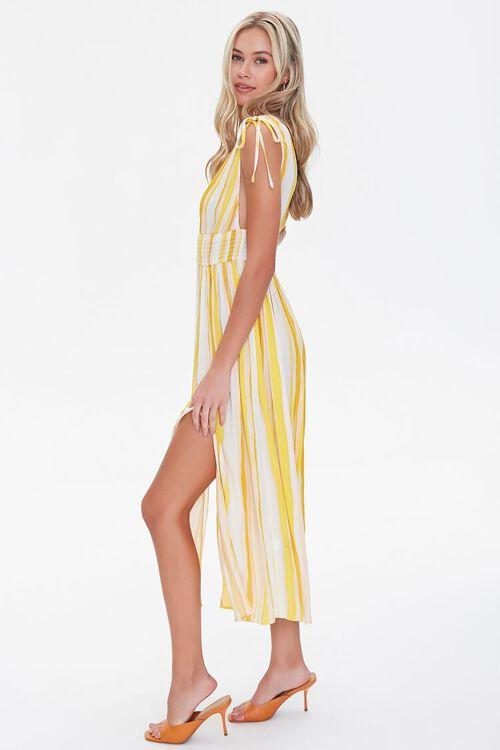 Crinkled Striped M-Slit Dress, image 2