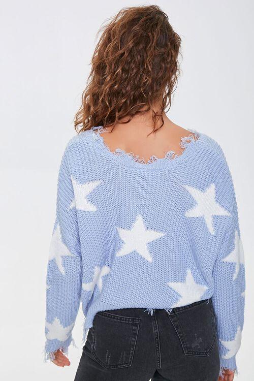 Distressed Star Print Sweater, image 3
