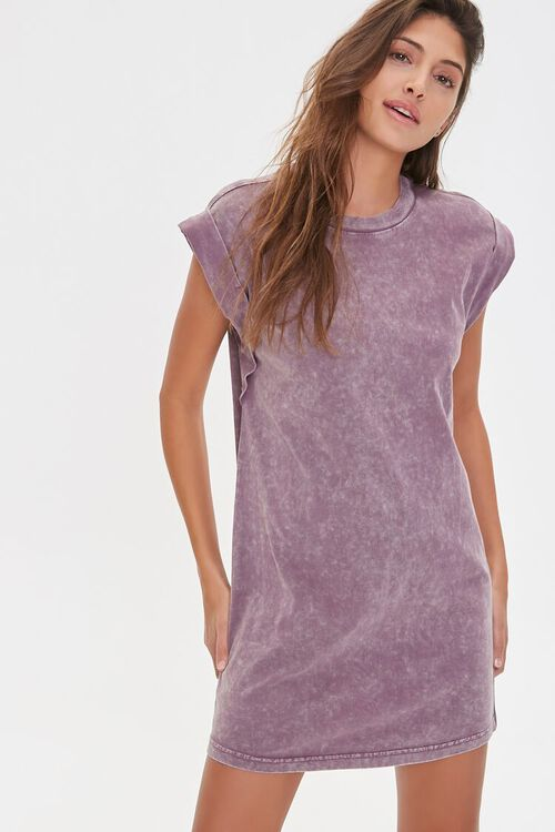 Mineral Wash T-Shirt Dress, image 1