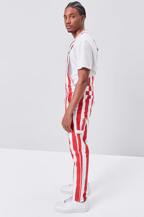 Bold Vertical Striped Overalls, image 2