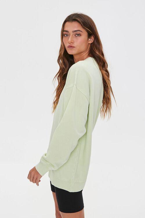 Oversized Fleece Sweatshirt, image 2