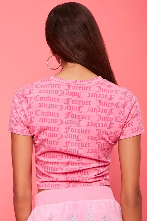 PINK/MULTI Juicy Couture Graphic Tee, image 3
