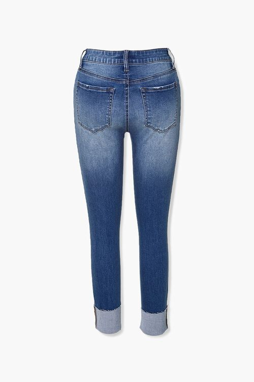 Recycled Cuffed Skinny Jeans, image 3