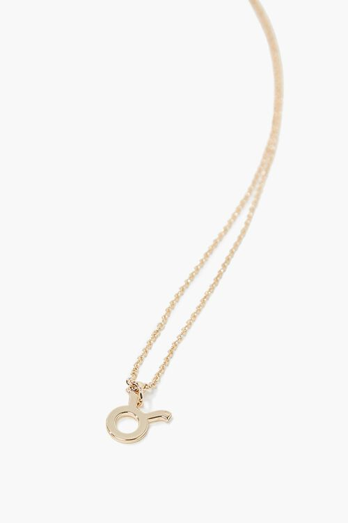 Taurus Charm Necklace, image 1