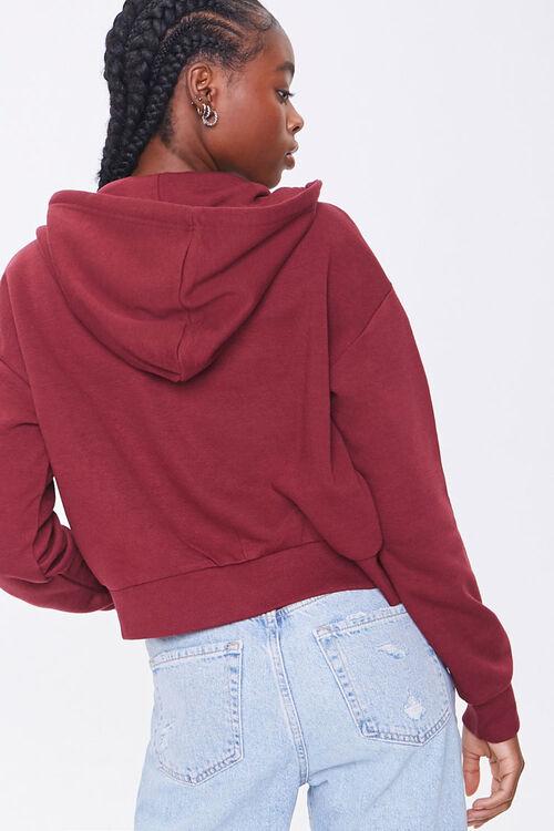 Basic Fleece Zip-Up Hoodie, image 3