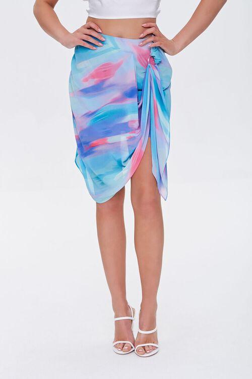 Abstract Print Mini Skirt, image 2