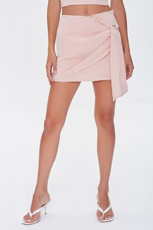 Overlay O-Ring Mini Skirt, image 2