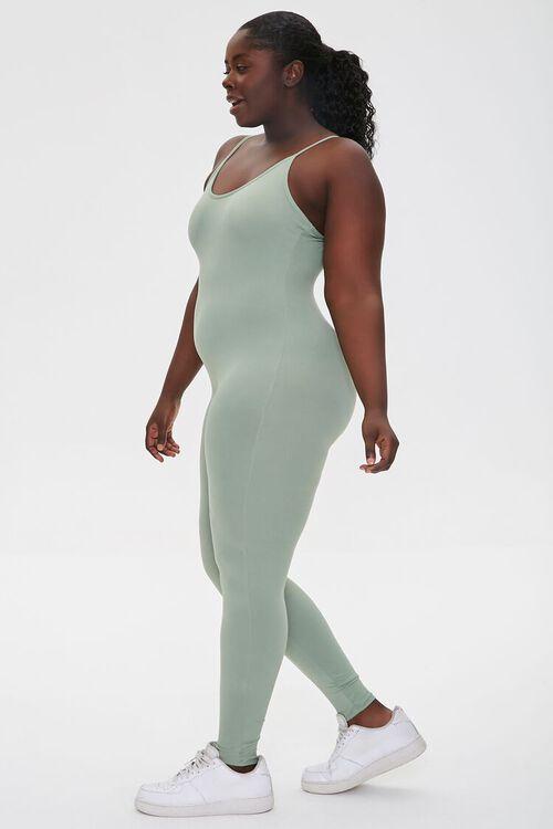 Plus Size Cami Scoop Jumpsuit, image 2