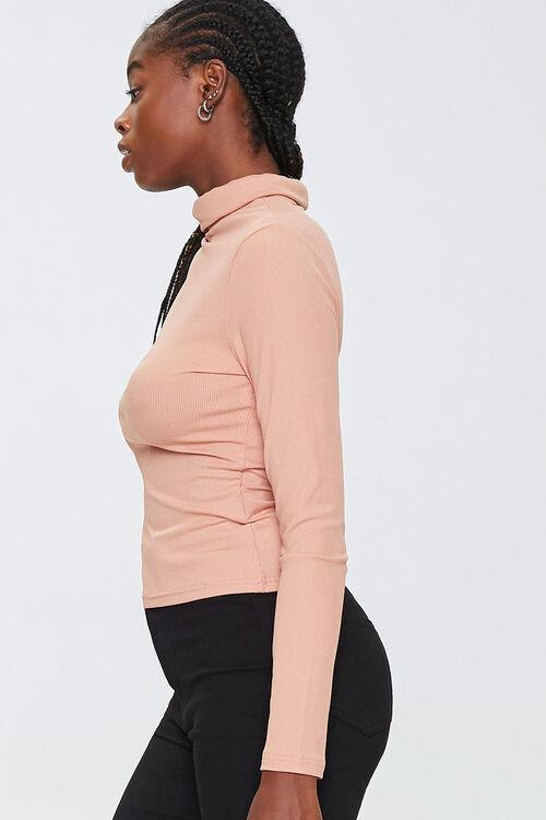 Turtleneck Long-Sleeve Top, image 2
