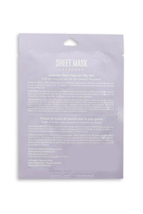 LAVENDER Lavender Sheet Mask, image 2