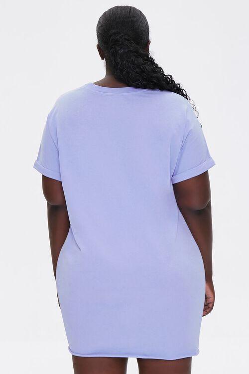 Plus Size Cuffed T-Shirt Dress, image 3