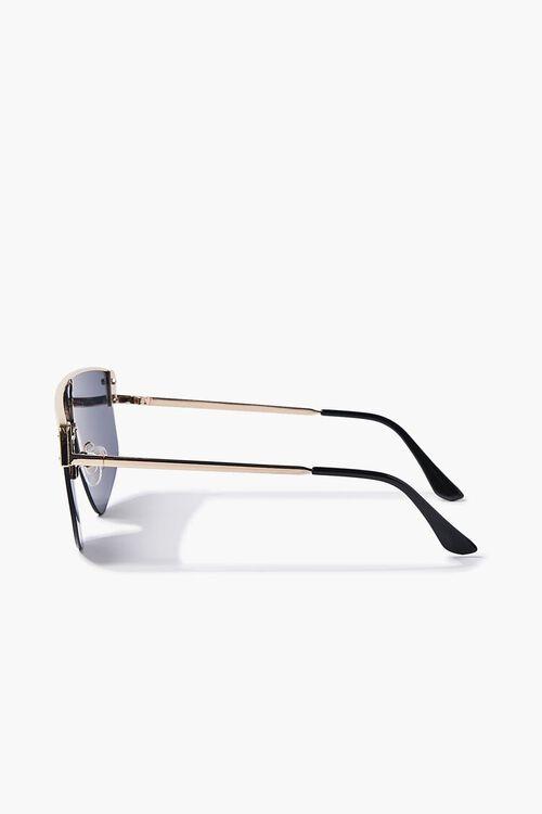 Bar-Accent Shield Sunglasses, image 4