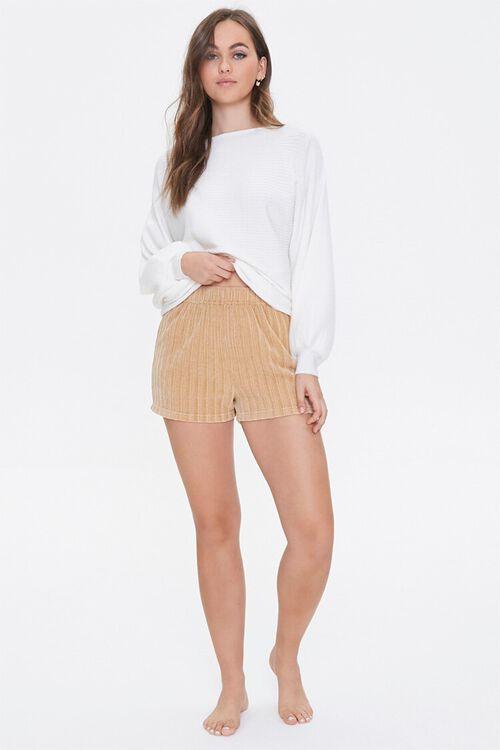 Chenille Pajama Shorts, image 5