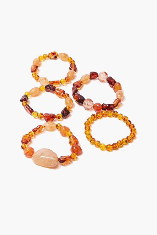 Faux Stone Bracelet Set, image 1