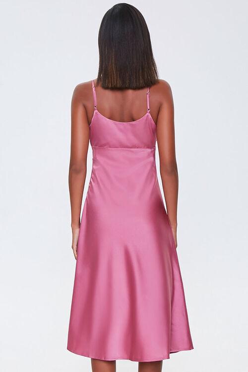 Ruched Satin Dress, image 3