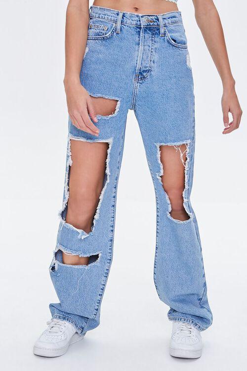 Premium Destroyed 90s Jeans, image 2