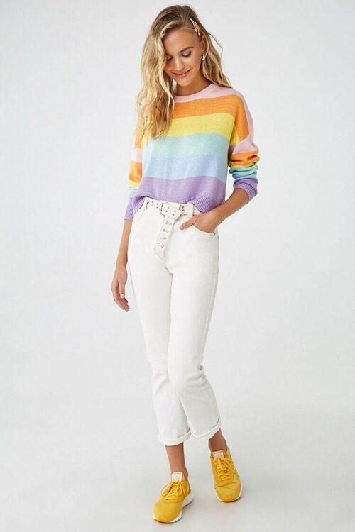 Rainbow Striped Sweater, image 4