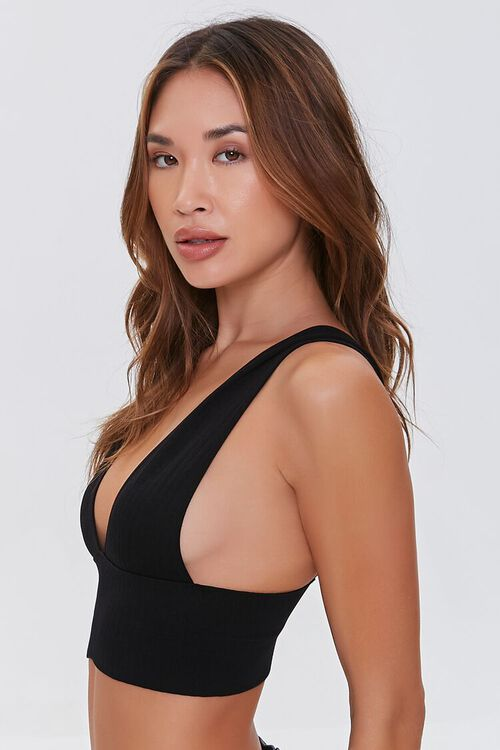 Seamless Plunging Bralette, image 2