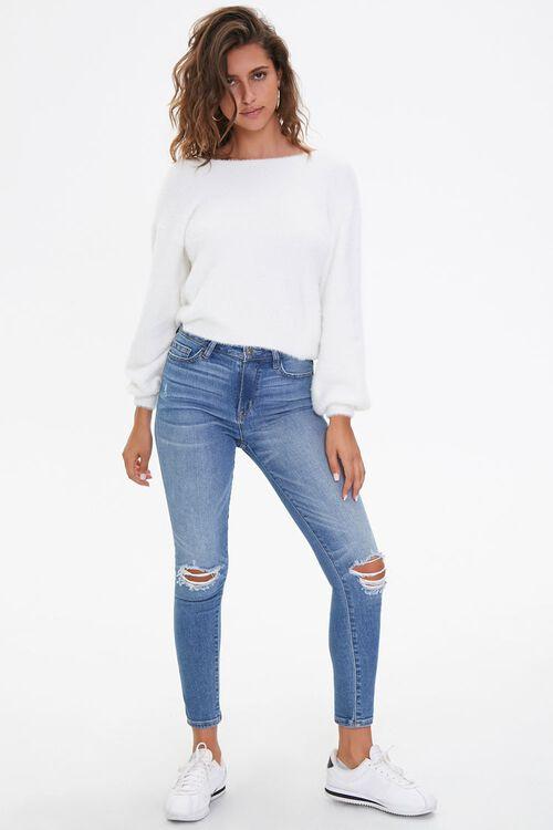 Plush Twist-Back Sweater, image 4
