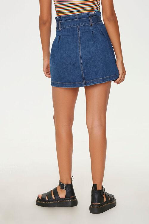 Denim Paperbag Mini Skirt, image 4