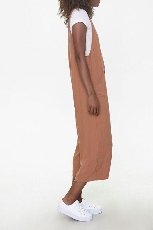 Sleeveless Linen-Blend Jumpsuit, image 2