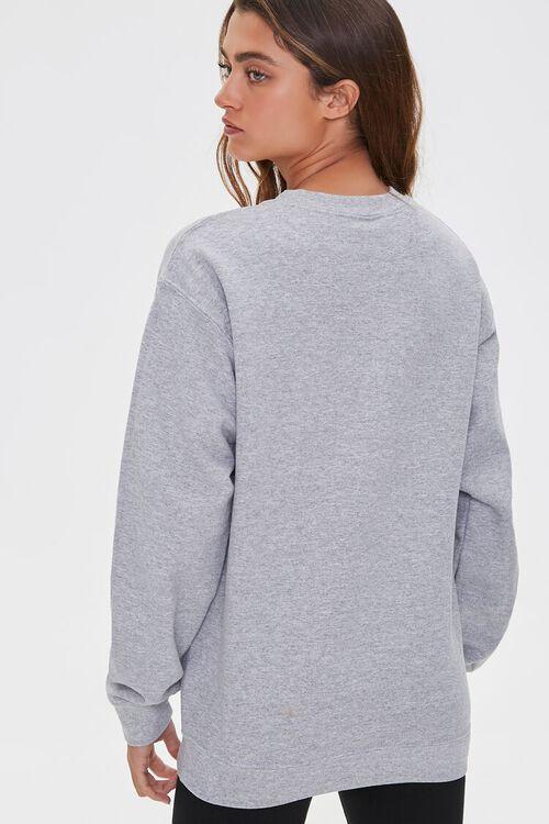 HEATHER GREY/MULTI Fleece Graphic Sweatshirt, image 3