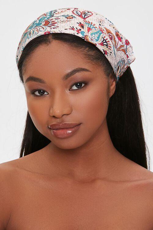 Paisley Bandana Headwrap, image 1