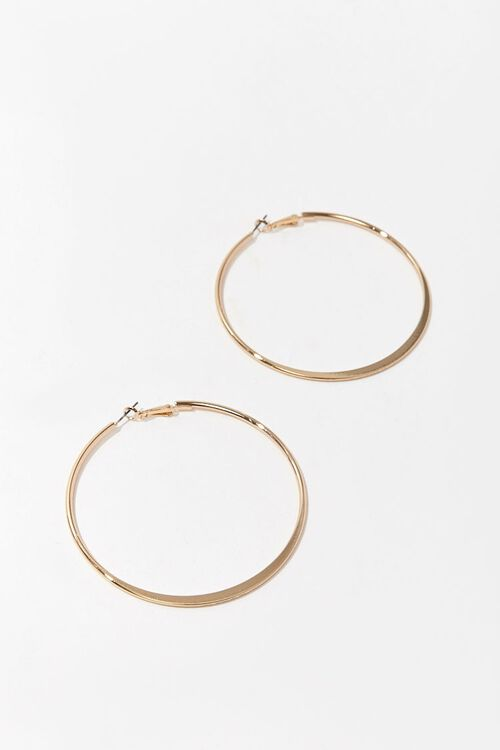 Oversized Hoop Earrings, image 3