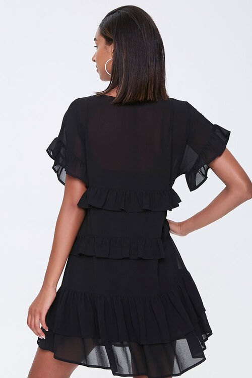 Tiered Ruffle Mini Dress, image 3