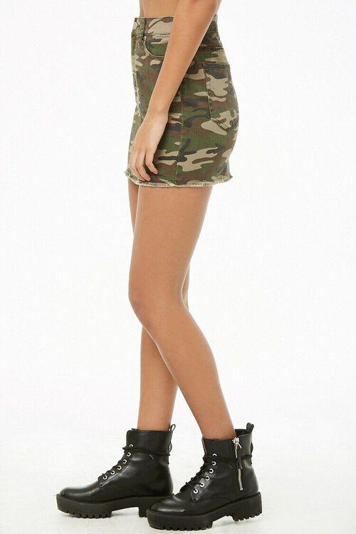 Camo Mini Skirt, image 3