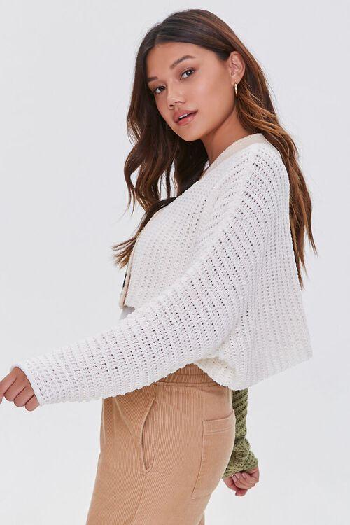 Colorblock Cardigan Sweater, image 2