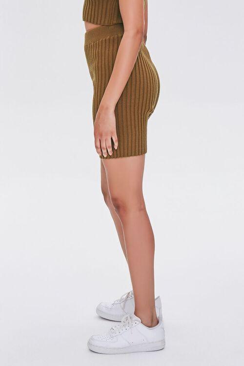 Ribbed Knit Bermuda Shorts, image 3