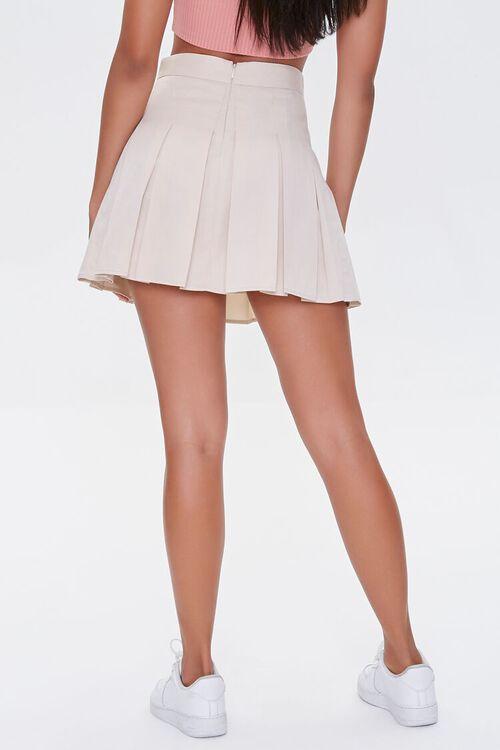 Pleated A-Line Mini Skirt, image 4