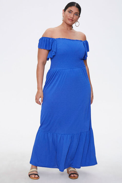 Plus Size Off-the-Shoulder Dress, image 1