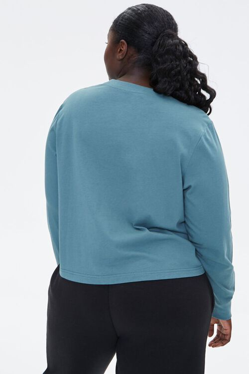 Plus Size Celestial Graphic Pullover, image 4