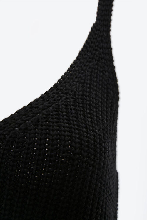 Vented Crochet Cami, image 4